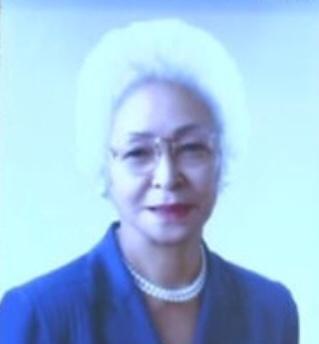 中曽根蔦子(ツタコ・ナカソネ)の顔画像