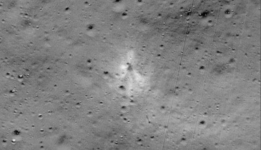 NASA 月面探査機 発見を調査!チャンドラヤーン2号の画像も